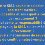 SISA : conditions de recrutement d'un assistant médical