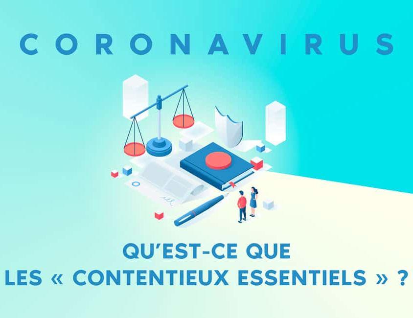 coronavirus : qu'est ce que le maintien des contentieux essentiels ?