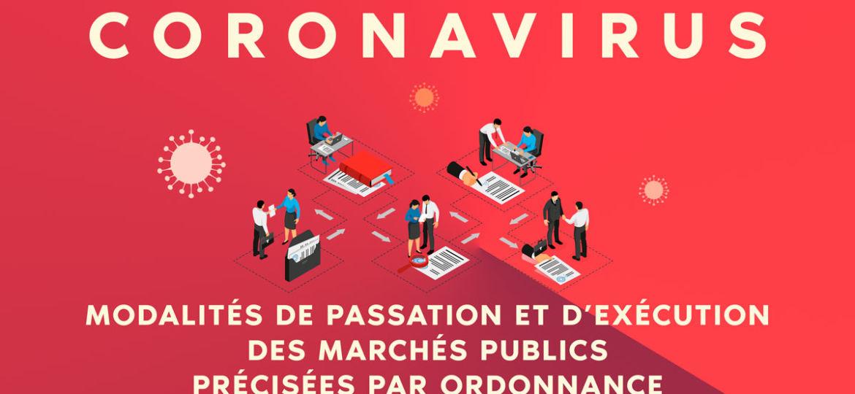 Passation et exécution des marchés publics - coronavirus