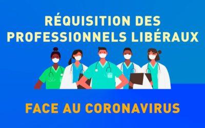 Requisition des praticiens libéraux face au coronavirus