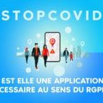 STOPCOVID - RGPD
