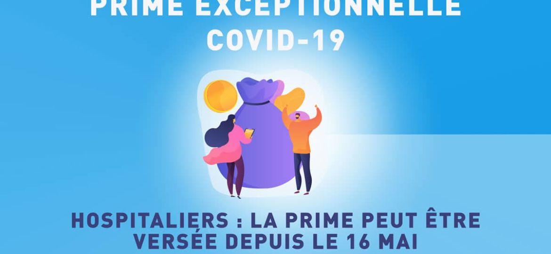 Hospitalier : prime covid-19