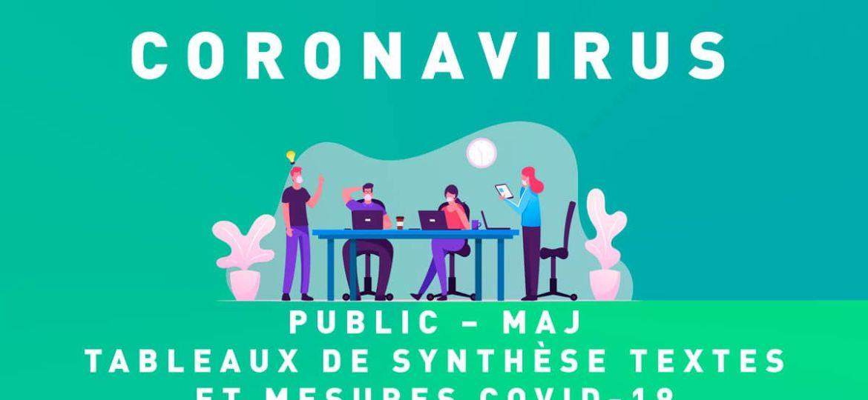 Tableaux Coronavirus - Public - MAJ