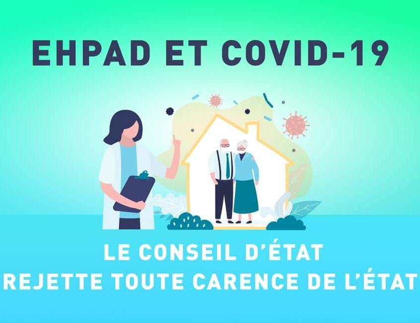 EHPAD et COVID-19 pas de carence de l'État