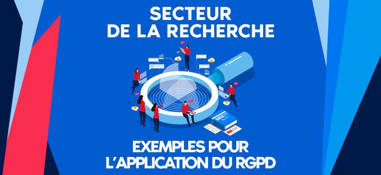 Exemples des applications du RGPD dans le secteur de la recherche