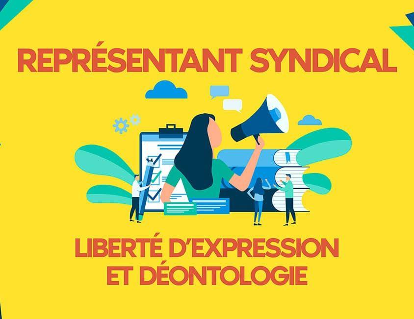 Representant syndical et liberte d expression