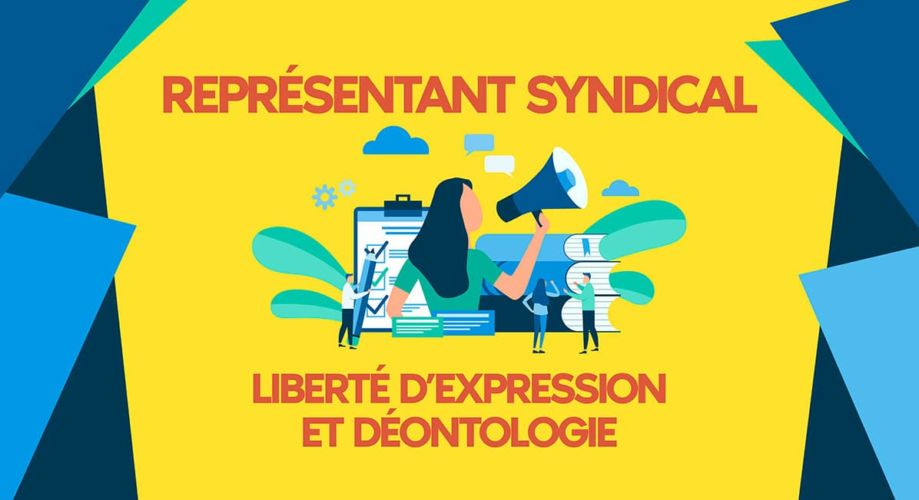 Representant syndical et liberte d expression