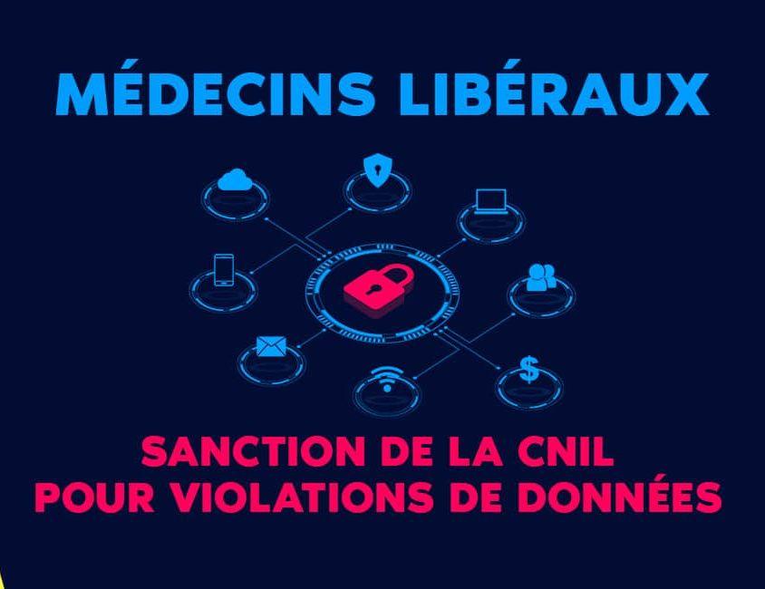 Médecin libéraux sanction CNIL pour violation de données