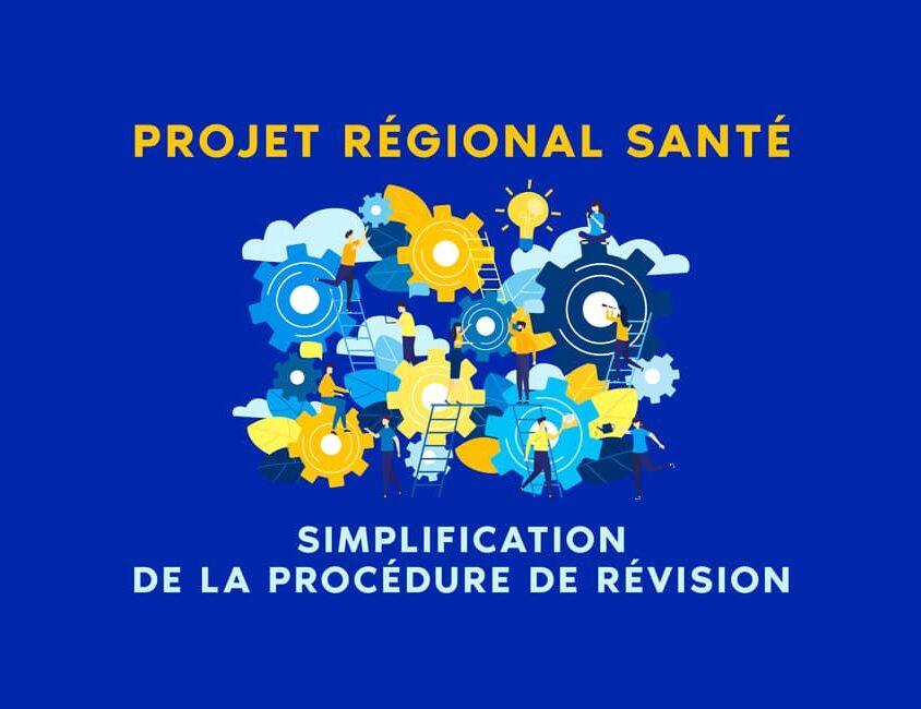 Projet régional de Sénat Simplification de la procédure de révision