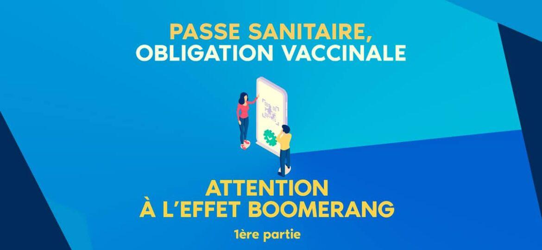passe sanitaire et obligation vaccinale des soignants