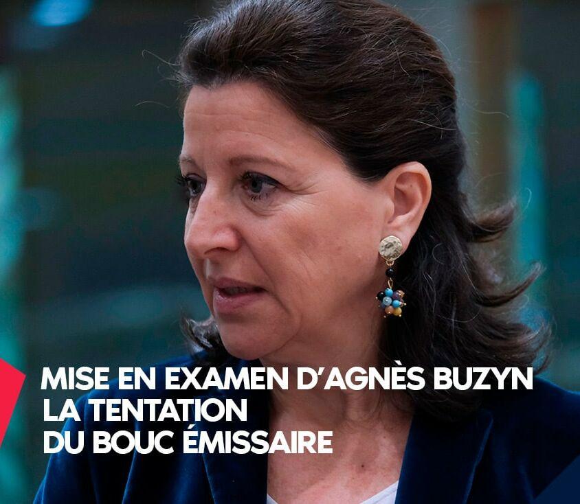 Mise en examen Agnès Buzyn